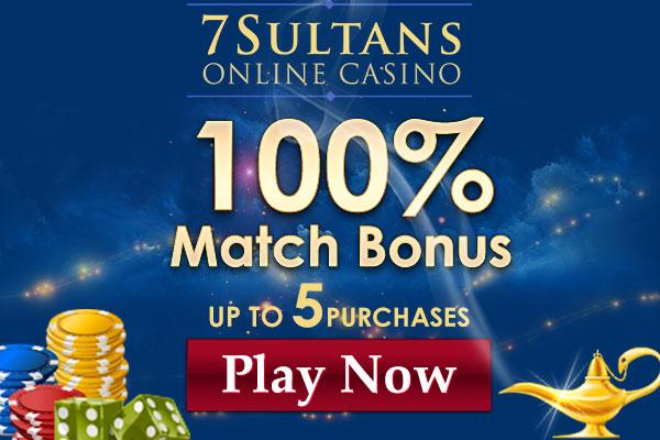 7 sultans casino bonus